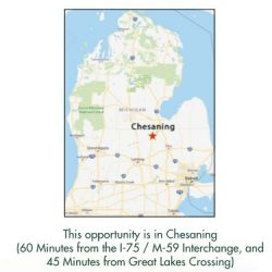 Chesaning map pic
