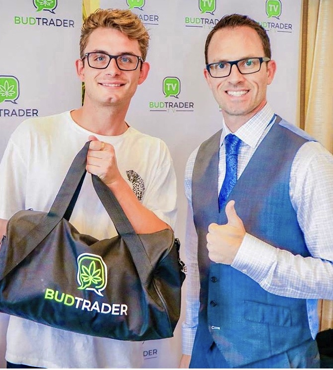 BudTrader CEO Brad McLaughlin and James Kennedy from Vanderpump rules